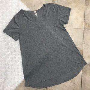 LuLaRoe Heathered Gray Classic Xtra Small